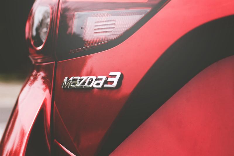 Samochód Mazda - OC