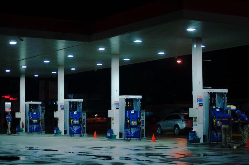 Stacja benzynowa - paliwo