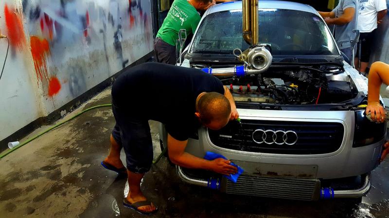 Wycofanie z ruchu naprawianego auta