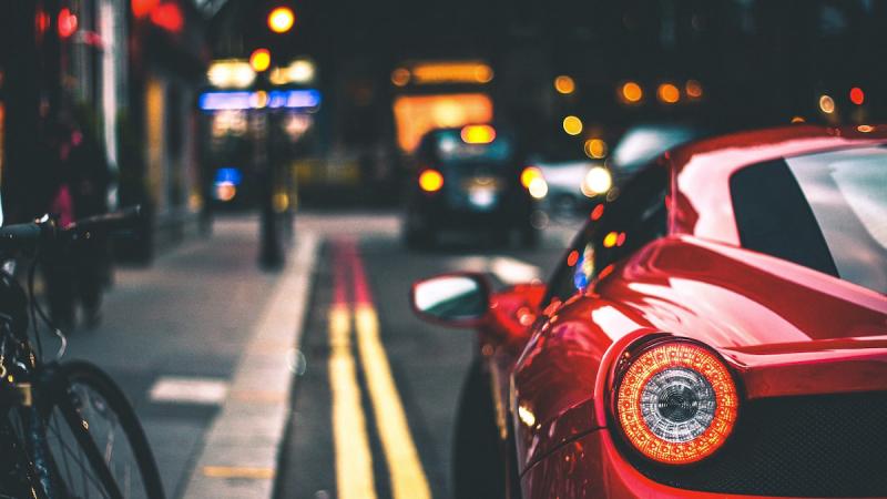 Samochód na ulicy