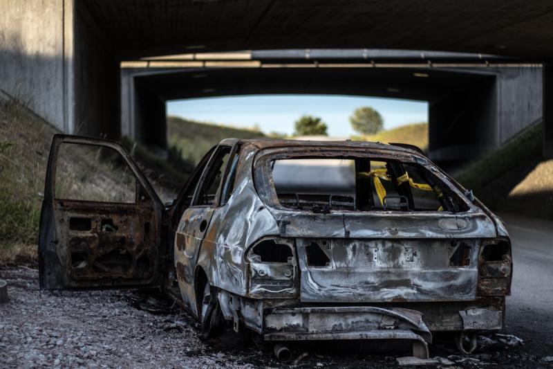 Zniszczone auto - szkoda całkowita OC