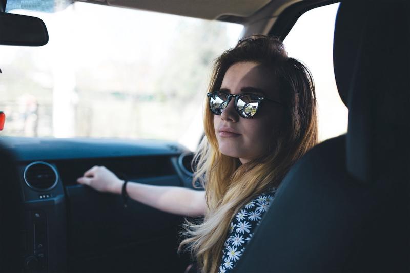 Pasażer samochodu