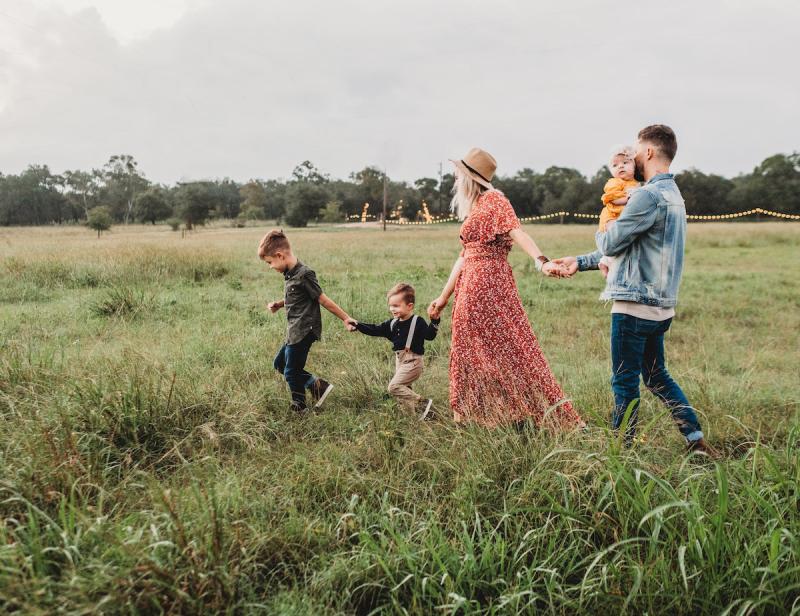 Rodzina na wycieczce