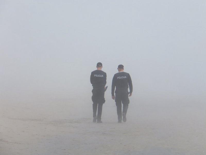Policja patrol