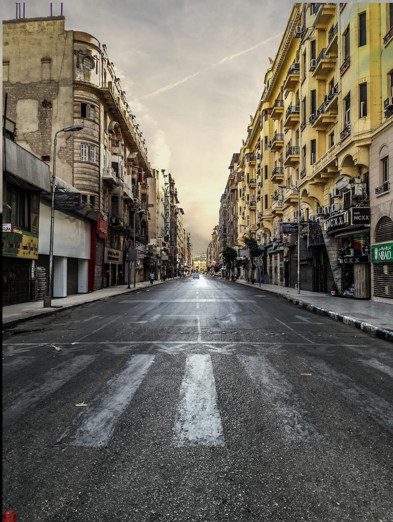 Ulica w miasteczku