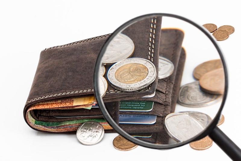 Portfel i monety