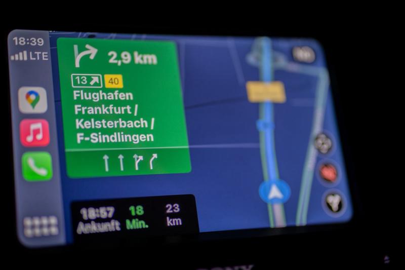 Nawigacja GPS w aucie